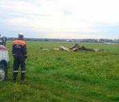 Разбившийся в Бердске самолёт чинили в частном гараже
