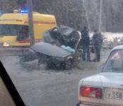 Погиб водитель «Хонды» на трассе Р-256 между Матвеевкой и Нижней Ельцовкой