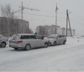 Первый февральский снежок спровоцировал несколько ДТП в Бердске