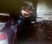 На трассе под Новосибирском погиб водитель автобуса из Казани