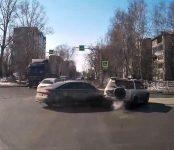 Появилась видеозапись ДТП с пострадавшей 65-летней женщиной в Бердске
