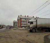 Низко висящий кабель оборвало неустановленное ТС в Бердске