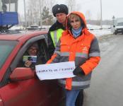 На Черепановском посту ГИБДД автоинспекторы провели мероприятие «Скорость – не главное!»