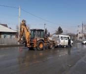 Трактор «догнал» маршрутку №15 на перекрёстке в Бердске