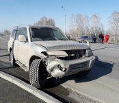 Один человек травмирован в тройном ДТП у Поклонного креста в Бердске