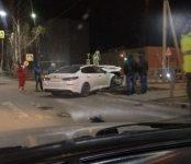«Гонщик» в Бердске остановил свой «болид» об авто попутчика