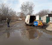 Спасатели и волонтёры спасали «утопающих» в Бердске