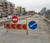 Проваливаются дороги в Микрорайоне Бердска