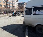 Пьяный «гонщик» на «Яндекс.Такси» протаранил 13-ю маршрутку в Бердске