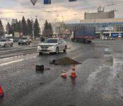 Погиб пожилой пешеход не на переходе в Новосибирске