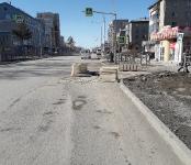 Провал на перекрёстке в Бердске: место встречи изменить нельзя