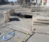 Проезды и тротуары Бердска, разрытые в этом году, отремонтируют в 2020-м