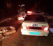 Сотрудники ГИБДД за 20 минут задержали пьяного угонщика трактора