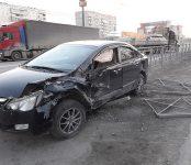 Два ДТП у бердского вокзала парализовали движение транспорта на федеральной трассе