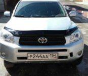 В Бердске угнали старенький Toyota RAV-4