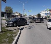 Автоледи на «Шевроле» нарушила ПДД и допустила ДТП в центре Бердска
