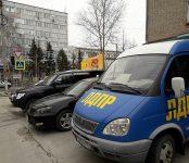 Первомайский автопробег в Бердске с партийным приветом