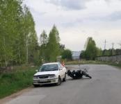 ГИБДД: 16-летний мотоциклист на «Урале» пострадал в ДТП в Новосибирском районе