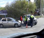 С тяжёлыми травмами попала в больницу автоледи без прав после ДТП в Бердске