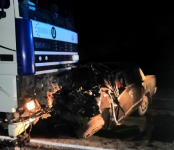 Погибли пожилые пассажир и водитель «пятёрки» на трассе в Новосибирской области