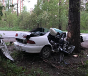 30-го мая в Новосибирской области погибли в ДТП три человека