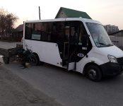 Пьяный на трёхколёсном мотоцикле таранил маршрутку в Бердска