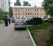 ВАЗ без водителя устроил небольшое ДТП в Бердске