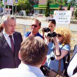Досрочно, к середине июля, отремонтируют улицу Лунная в Бердске
