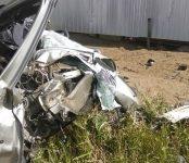 В столкновении с КамАЗом погиб водитель легковушки на трассе под Новосибирском