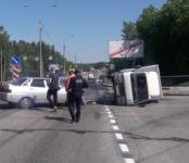 ДТП с «перевёртышем» в Бердске обошлось без пострадавших