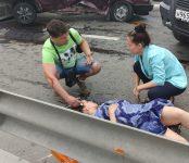 В серьёзном ДТП на Вшивой горке травмирована жительница Бердска