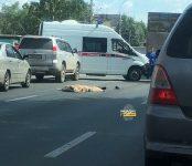 Пешеход скончался под колесами грузовика от «Магнита» в Новосибирске