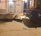Женщина погибла под железобетонной плитой в троллейбусном парке в Новосибирске