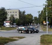 Автоледи на «Лексусе» на пропустила «Исузу» на перекрёстке в Бердске