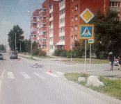 10-летнего велосипедиста сбил автомобиль в Бердске