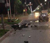 Байкер погиб в столкновении мотоцикла и «девятки» в центре Бердска