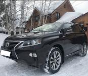 Lexus за два миллиона рублей угнали в Бердске