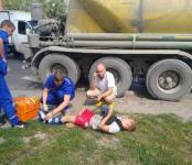 Просматривается вина водителя цементовоза из Искитима в наезде на подростка-пешехода в Бердске