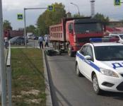 Грузовик «Хово» насмерть сбил мопедиста в Новосибирске