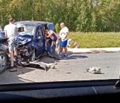 Два человека погибли в ДТП на трассе Р-256 в Черепановском районе