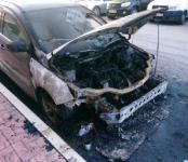 В Бердске подожгли «Ford Focus»