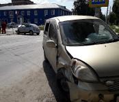 Годовалый ребёнок не пострадал в столкновении двух иномарок в Бердске