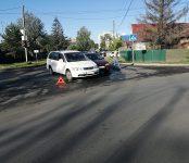 Водитель «Тойоты» не заметил «Хонды» на перекрёстке в Бердске