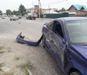 Девушка на Hyundai TUCSON устроила тройное ДТП на перекрёстке в Бердске