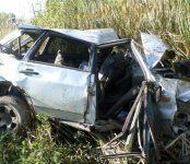 Погиб в кювете автодороги К-21 водитель «девятки» из Дубровки