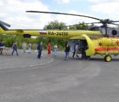 На Ми-8 будут доставлять в мегаполис тяжелобольных жителей Бердска