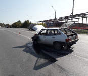 Дедушка на ВАЗе из Лебедёвки устроил ДТП на трассе в Бердске