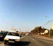 Вылетел на встречку: появилось видео ДТП с пострадавшим на трассе в Бердске