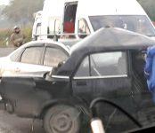 Скончался в больнице водитель «семёрки» после жёсткого столкновения с иномаркой на трассе под Бердском