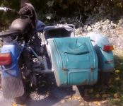 Пожилой мотоциклист погиб в Новосибирской области